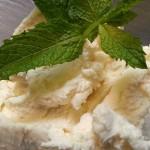 Cardamom-lime whipped mascarpone. Accompanied a Caribbean cuisine menu.