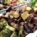 Roasted veggies. Accompanied a Moroccan menu.