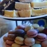 Assorted desserts.