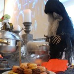 Witch preparing the brew... and cookies!